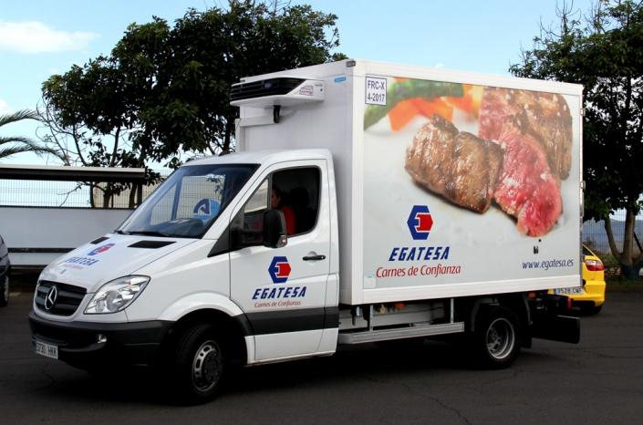 Rotulación de vehículos Exinte Tenerife